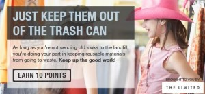 recyclebank clothing points