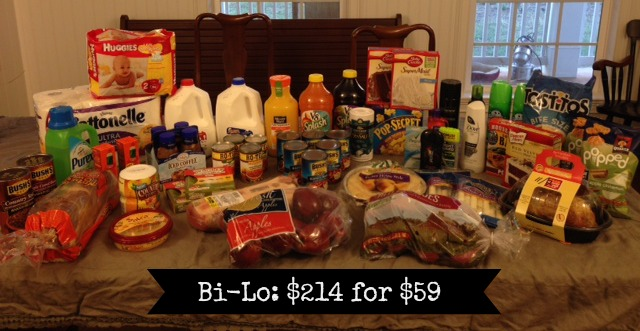 Bi-lo shopping trip picture