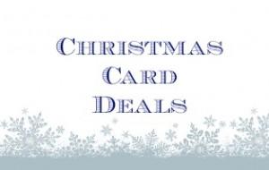 Christmas Card Deals