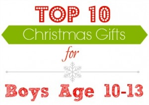 have a 10 13 year old boy on your shopping list this season this can be a tricky age because they are moving into the teen years but not quite there yet - Christmas Gift Ideas 10 Year Old Boy
