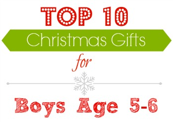 Top 10 Christmas gifts for boys age 5-6!