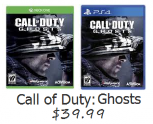 call of duty ghosts deal