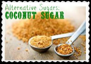 coconut sugar alternative