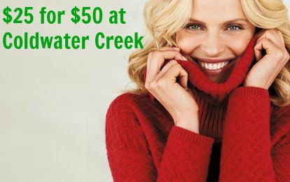 coldwater creek groupon