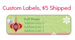 custom vistaprint labels