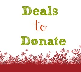 Use your deal hunting for good and gather things to donate to others.