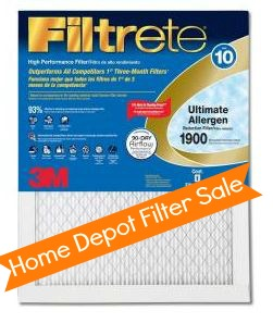 filtrete air filters deal