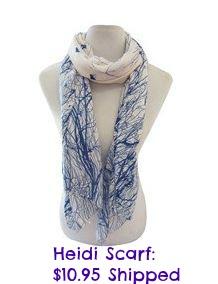 heidi scarf deal