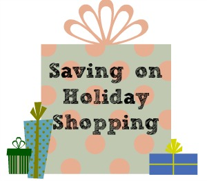 Saving on holiday shopping. // Southern Savers