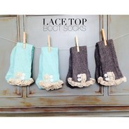 lace top socks