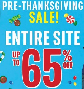 pre-thanksgiving sale