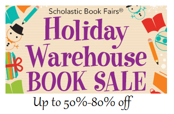 scholastic book fair warehouse sale