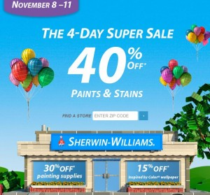 sherwin williams sale