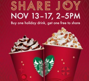 starbucks deal