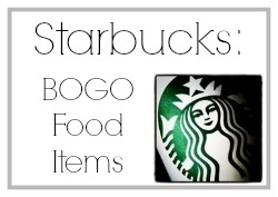 BOGO Starbucks