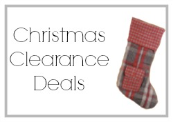 Christmas Clearance Deals