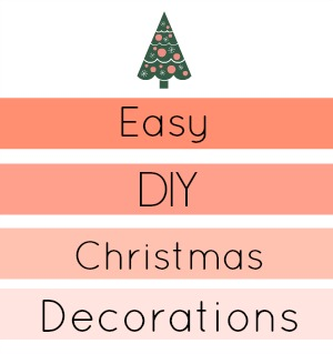 Easy ways to do some last minute decorating inexpensively!