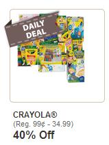 Michaels Crayola