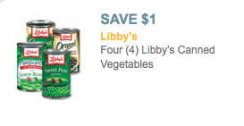 libbys vegetable coupons