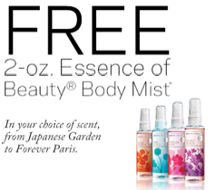 New CVS Coupon: Free Essence of Beauty Body Mist