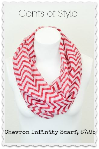 chevron infinity scarf deal