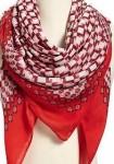 gauze twill scarf