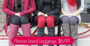 jane fleece leggings