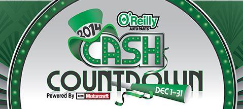 oreilly cash