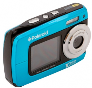 polaroid water proof camera