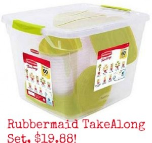 rubbermaid plastics set