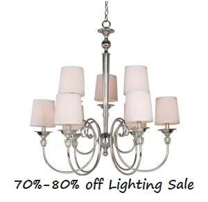 Home Depot Lighting Deal: 70%-80% off Clearance Sale :: Southern