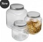 3 piece jars