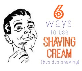 6 ways to use shaving cream (besides shaving)