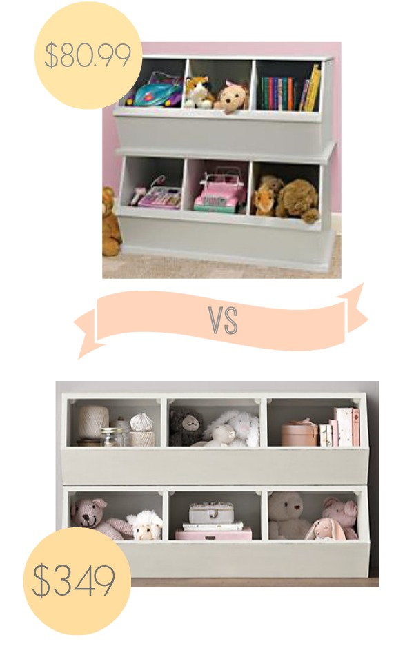look alike storage bins from restoration hardware theyre stackable and great for your - Kids Room Storage Bins