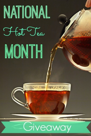 National hot tea month giveaway from Red Rose and Salada.