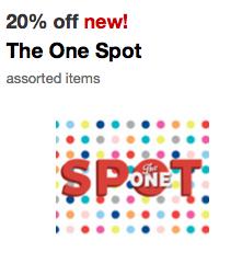 target dollar spot coupon
