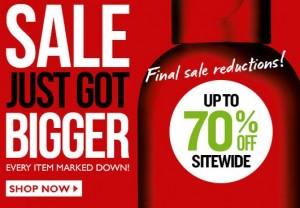 body shop 70 sale