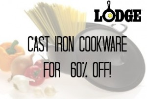 Lodge Cast Iron Cookware Deal