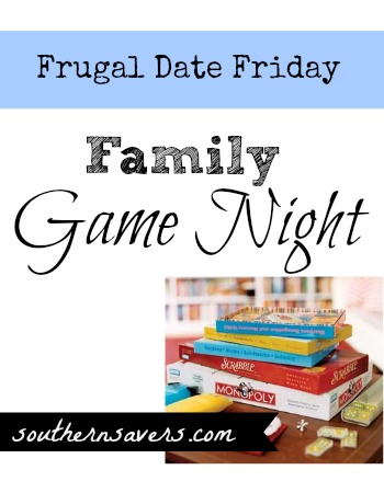 Include everyone on date night tonight, grab some games and make memories!