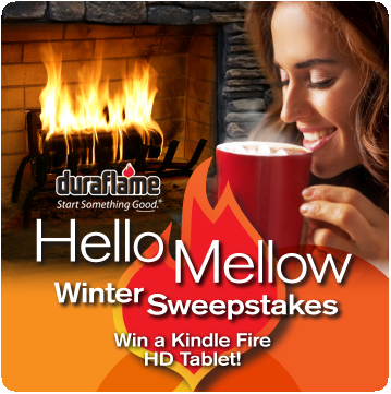 hello mellow duraflame sweepstakes