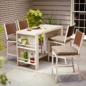 home patio bar. Home Depot 5 Piece Patio Bar Set