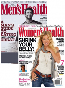 men's and women's health magazine