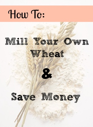 How to Mill Your Own Wheat & Save Money Doing It!