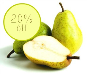 bartlett pears coupon