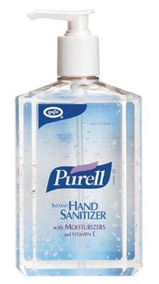 free purell hand sanitizer