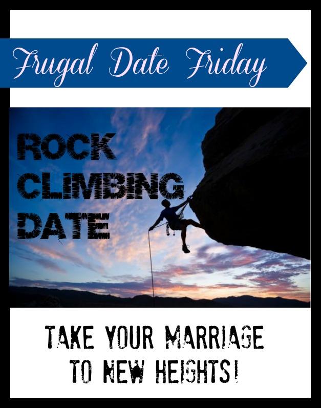 Frugal date ideas | Rock climbing date!