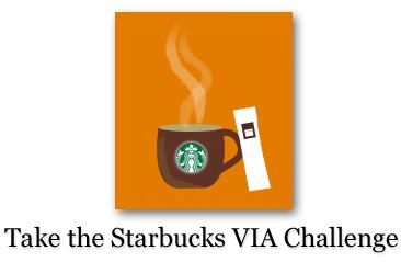 starbucks via challenge