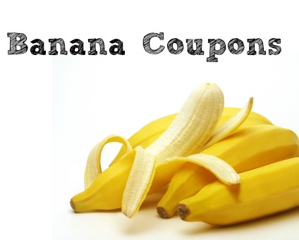 Banana coupons