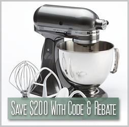 Kohls.com - Save $200 On A KitchenAid Artisan Stand Mixer
