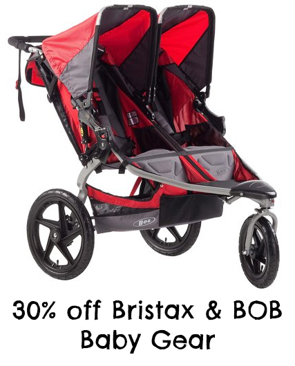 Britax Car Seats and Bob Stroller Sale